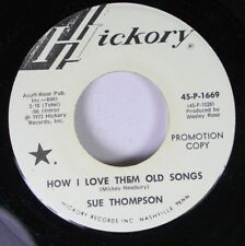 Country Promo Nm! 45 Sue Thompson - How I Love Them Old Songs / Just Two Young P