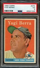 1958 Topps #343 YOGI BERRA PSA grade 3 Great card NEW YORK YANKEES