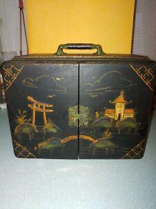 Vintage Emerson RADIO & TELEVISION JAPANESE LACQUER BOX