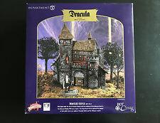 Department 56 Hot Classics Dracula's Castle Bela Lugosi Village Set #59301