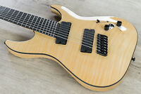 Schecter C-7 Multiscale SLS Elite 7-String Guitar Flamed Maple Top Gloss Natural