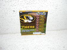 Missouri Tigers State Lottery Ticket Non Winner NCAA MU Mizzou