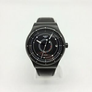 Swatch Sistem Black Sistem51 SUTB400 Automatic 42mm Men's Watch Pre-owned EUC