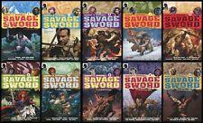 Robert E Howards Savage Sword Trade Paperback Set 1-2-3-4-5-6-7-8-9-10 REH Conan