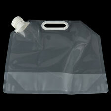5L Portable Folding Clear Water Bag Camping Hiking Survival Tool Kit Sup WZHX
