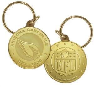 Arizona Cardinals NFL Footbal Team  Collectible Coin Keychain Highland Mint New