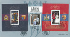 Elizabeth II (1952-Now) First Day Cover Gibraltar Stamps