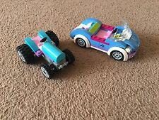 Incomplete Lego Friends Tractor And Car