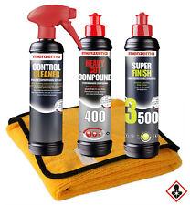 Menzerna 400 + 3500 + Control Cleaner + Microfasertuch Lack Politur SET-MENZ7