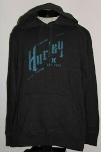 HURLEY Mens XL X-Large zip-up hoodie/hooded Sweatshirt