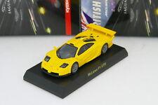 Kyosho 1/64 McLaren F1 GTR Yellow BRITISH Minicar Collection 2009 Rare Jaguar