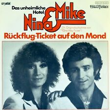 "7"" NINA & MIKE Rückflug-Ticket auf den Mond ERUPTION One Way.. BLACK PRINCE 1979"