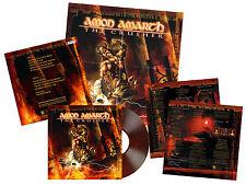 AMON AMARTH - THE CRUSHER, 2017 EU ORANGE/BROWN MARBLED vinyl LP, 500 COPIES!