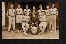 Leeds - Y.M.C.A. Winners of Leeds & District Gymnastic Championship 1923 - RP