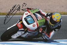 Xavier Simeon Hand Signed Federal Oil Gresini Suter 12x8 Photo 2014 Moto2 1.