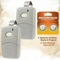 2x For Linear 3089 Multi-Code Remote MCS308911 308911 Transmitter Garage Gate