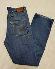 Authentic King Kerosin 31x31.5 Denim Jeans Straight Leg 5 Button England Pre-own