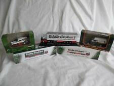 Eddie Stobart collection, 2 trucks, escort van and Reliant Regal van.