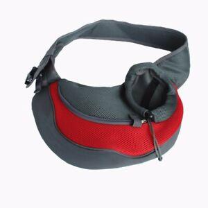 Pet Dog Cat Puppy Carrier Comfort Travel Tote Single Shoulder Bag Sling Backpack