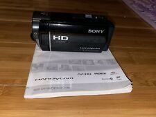 Sony Handycam HDR-CX130 HD Camcorder - BLACK - 027242820166