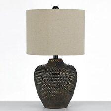 Southwestern table lamps ebay af lighting 8559 tl danbury textured ceramic table lamp brown aloadofball Choice Image