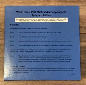WORLD BOOK 1997 MULTIMEDIA ENCYCLOPEDIA  CD-ROM Disk NEW