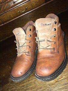 Ariat Macey Women's Work Boot (Style 10005947) - Peanut - US Women's 9 US 40 Eu