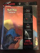 Ultra Pro Pokemon Charizard 9 Pocket Trading Card Portfolio 20 Page Binder Xy