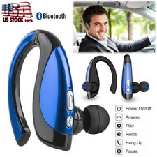 New listing Bluetooth Headset Driver Earphone w/ Mic for iPhone Lg Samsung S21 S20 S10 S9 S8