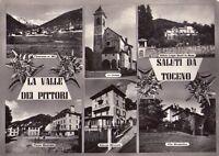 TOCENO (VERBANIA) - SALUTI DA TOCENO - RARA CARTOLINA - ANNI '40