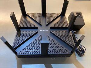 TP-LINK AC5400 Archer  Wireless Tri-Band Mu-Mimo Gigabit Router - Black