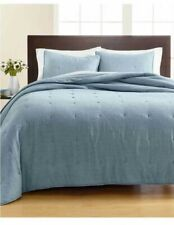 Martha Stewart Collection  Tufted Chambray Full/Queen Quilt
