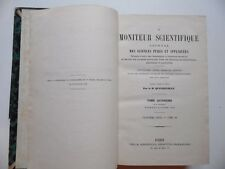 Le Moniteur Scientifique/Journal Sciences Pures et Appliquées/Quesneville/1873
