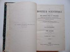 Le Moniteur Scientifique/Journal Sciences Pures et Appliquées/Quesneville/1873