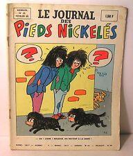 "mensuel ""le journal des Pieds Nickelés"" n° 35 ed SPE 1968"