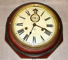 New ListingAnsonia Octagonal Lever Clock For Restoration-Perfect Project during Lock Down!
