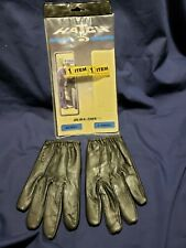 "Hatch Police Search Gloves Dura-Thin SG50LT X-SMALL Black NEW ""OLD STOCK"""