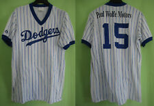 Maillot baseball Dodgers Los Angeles vintage Majestic #15 Jersey - S / M