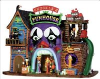 "Lemax Spooky Town ""Chuckles Funhouse"" NIB RARE RETIRED 2013 #35547 VHTF"