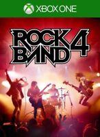 ROCK BAND 4 (Xbox One) - PRISTINE - Super FAST & QUICK Delivery FREE