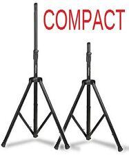 COPPIA STATIVI TREPPIEDI STAND SUPPORTI PER CASSE AMPLIFICATE O PASSIVE compact