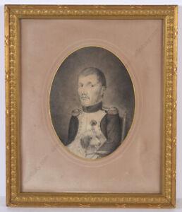 """Sergent of Napoleonic ""grenadiers-a-pied de la garde imperiale"", drawing"