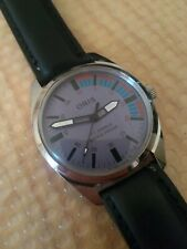 Vintage Swiss Oris Racing Timer Feature Watch Sports Dial
