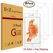 3Pcs For iPhone 8 Plus Premium Screen Protector Tempered Glass Protective Film