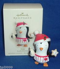 Hallmark Ornament South Pole Pals Skip 2007 Penguin as Baker NIB Free Shipping