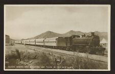 Red Sea Hills Sleeping Car Train early RP PPC locomotive #159