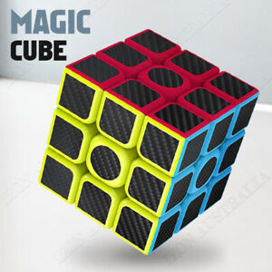 Magic Cube 3x3x3 Rubiks Puzzle Easy Turning Smooth Play Turns Quicker Toy Gift