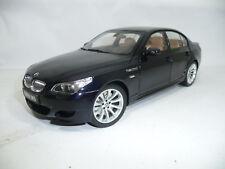 BMW 5er M5 E60 CARBON BLACK METALLIC 1:18 KYOSHO 08593BK VERY RARE