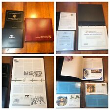 Lot of Postmasters, Postal & Readers Digest First Day Covers in Binders / Stamps