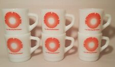 6 THE COLORADO SPRINGS SUN vtg newspaper fire king mcm coffee mug anchor hocking